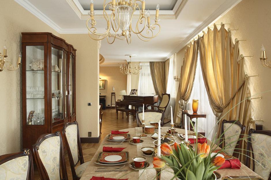 Фотография: Кухня и столовая в стиле Классический, Современный, Квартира, Дома и квартиры, Модерн, Ар-нуво – фото на InMyRoom.ru