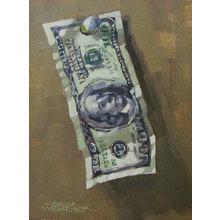 Картина (репродукция, постер): The other dollar - Кэрен Вернер