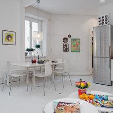 Фотография: Кухня и столовая в стиле Скандинавский, Современный, Хай-тек – фото на InMyRoom.ru