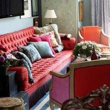 Фотография: Гостиная в стиле Восточный, Эклектика, Декор интерьера, Декор дома, Картины, Окна, Пол – фото на InMyRoom.ru