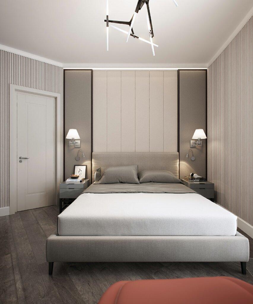 Фотография: Спальня в стиле Современный, Квартира, Проект недели, Москва, Евгения Матвеенко, FlatsDesign, Монолитный дом, 4 и больше, Более 90 метров – фото на InMyRoom.ru