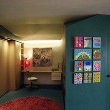 Фотография: Кабинет в стиле Минимализм, Малогабаритная квартира, Квартира, Франция, Терраса, Дома и квартиры, Сад, Пол – фото на InMyRoom.ru