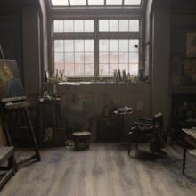 """Фото из портфолио """"Девушка из Дании"""" : интерьер к фильму  – фотографии дизайна интерьеров на INMYROOM"""