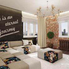 Фото из портфолио Двухкомнатная квартира «Дух странствий» – фотографии дизайна интерьеров на InMyRoom.ru
