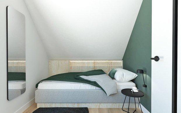 Фотография: Спальня в стиле Минимализм, Дом, Россия, США, Австралия, Франция, Отель, Шале, Калифорния, Санкт-Петербург, Польша, Тасмания – фото на INMYROOM