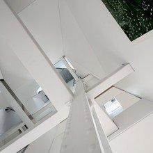 Фотография:  в стиле Современный, Лофт, Декор интерьера, Квартира, Цвет в интерьере, Дома и квартиры, Белый – фото на InMyRoom.ru