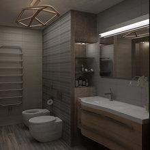 Фото из портфолио Оттенки коричневого – фотографии дизайна интерьеров на INMYROOM