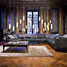 Фотография: Гостиная в стиле Классический, Лофт, Современный – фото на InMyRoom.ru