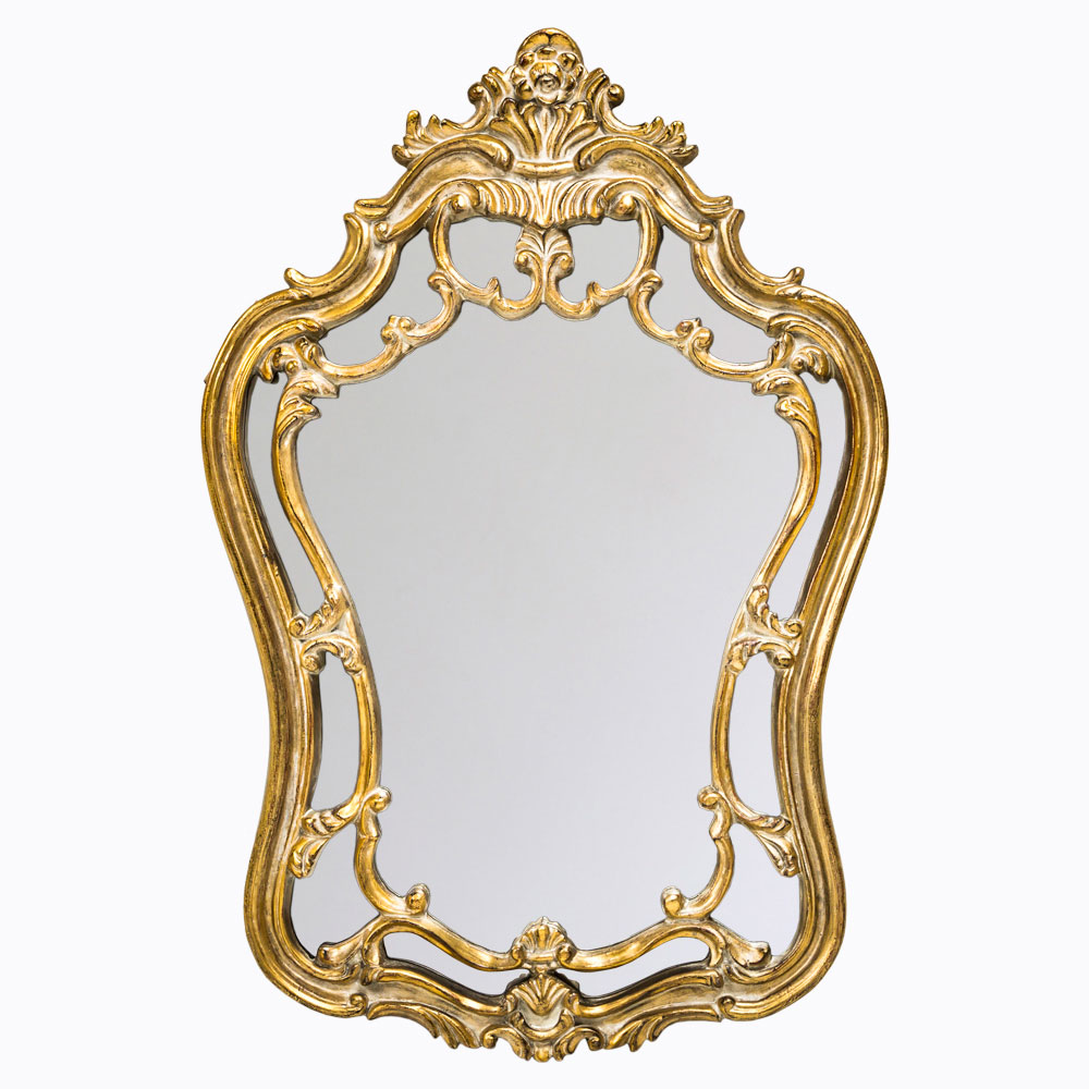 Купить Настенное зеркало лорен с двухъярусной окантовкой, inmyroom, Россия