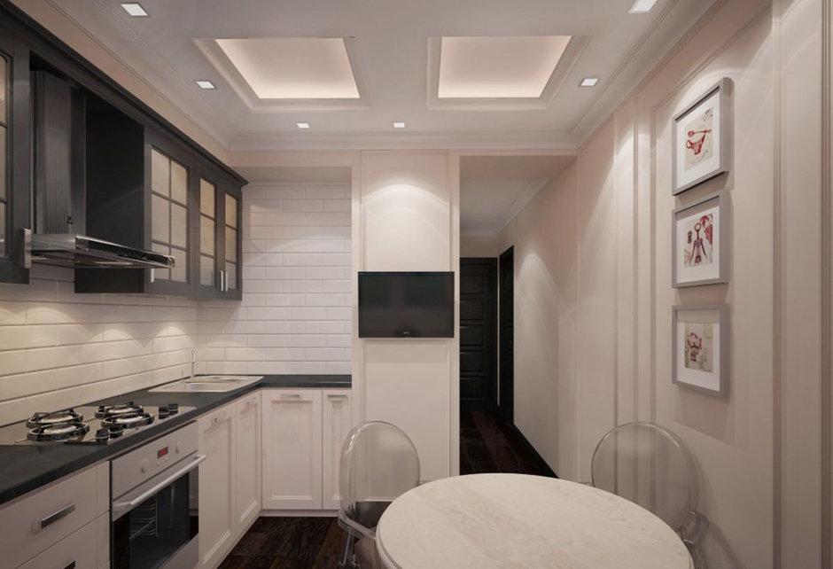 Фотография: Кухня и столовая в стиле Прованс и Кантри, Эклектика, Классический, Квартира, Проект недели – фото на InMyRoom.ru