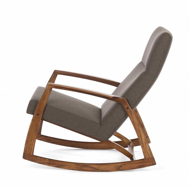 Кресло-качалка Ramsey 1 на каркасе из массива белого луба