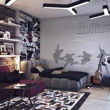 Фотография: Гостиная в стиле Лофт, Современный – фото на InMyRoom.ru