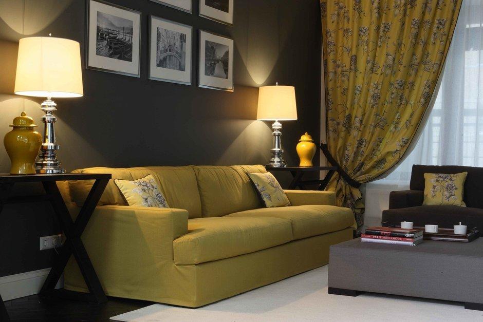 Фотография: Гостиная в стиле Современный, Классический, Квартира, Дома и квартиры – фото на InMyRoom.ru