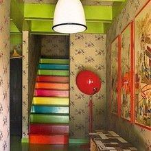 Фотография: Декор в стиле Современный, Эклектика, Декор интерьера, Декор дома, Цвет в интерьере, Геометрия в интерьере – фото на InMyRoom.ru