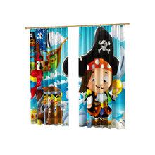 Детские фотошторы: Крошка-пират