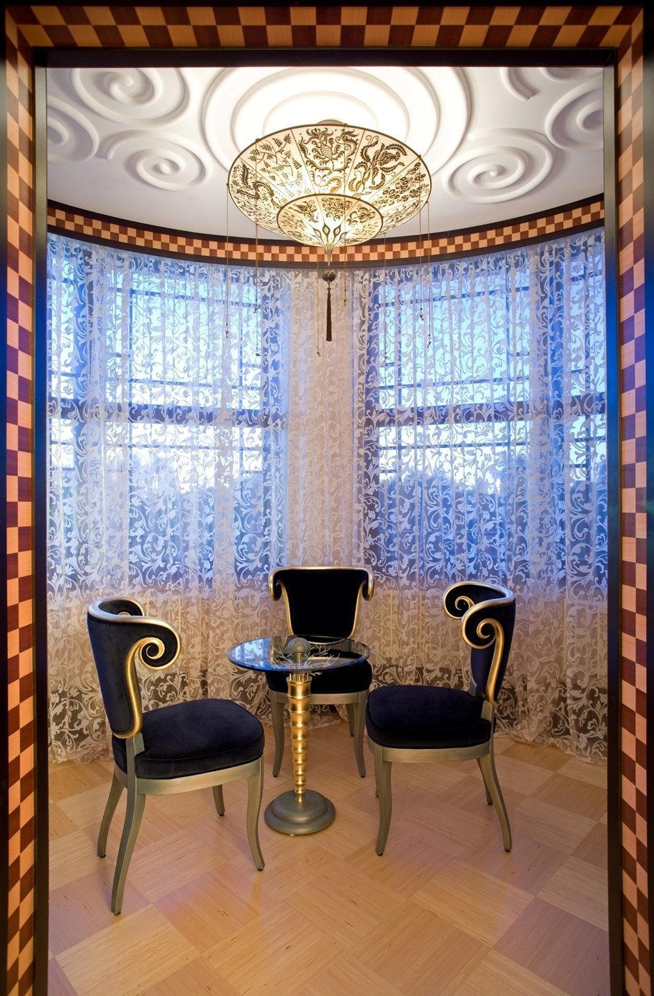 Фотография: Кухня и столовая в стиле Современный, Эклектика, Дом, Дома и квартиры, Ар-деко – фото на InMyRoom.ru
