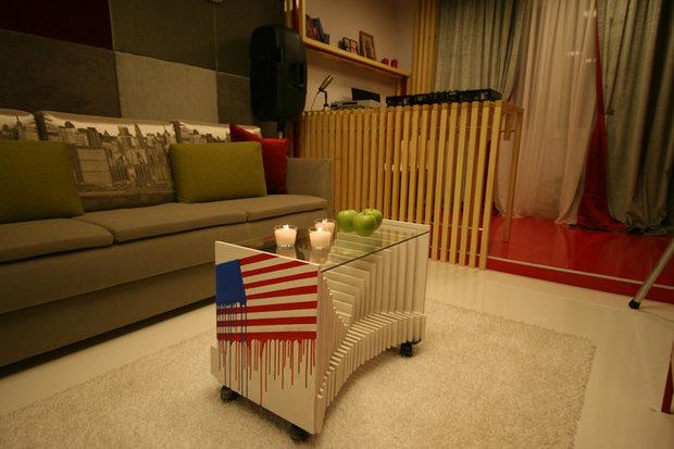 Фотография: Гостиная в стиле Современный, Декор интерьера, Декор дома, Журнальный столик – фото на InMyRoom.ru