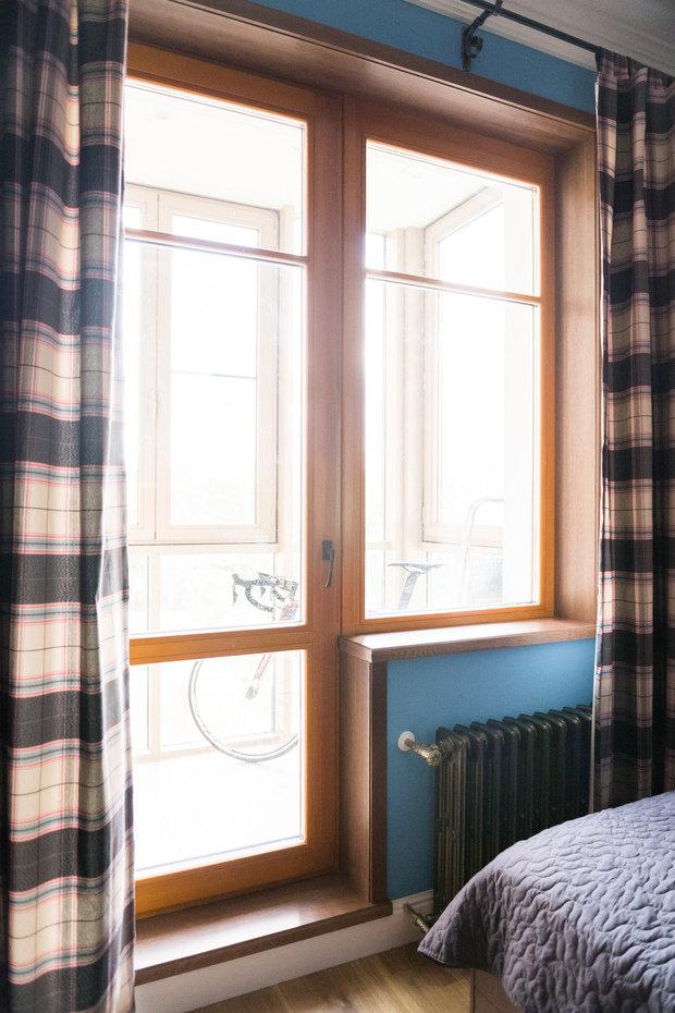 Фотография: Спальня в стиле Лофт, Прованс и Кантри, Квартира, Проект недели, Москва, Альбина Алиева, Монолитный дом, 4 и больше, Более 90 метров – фото на INMYROOM