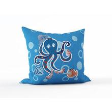 Детская подушка: Леди-осьминог