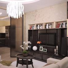 Фотография: Гостиная в стиле Современный, Восточный, Квартира, Дома и квартиры – фото на InMyRoom.ru