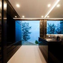 Фотография: Ванная в стиле Современный, Декор интерьера, Дом, Дома и квартиры, Архитектурные объекты – фото на InMyRoom.ru