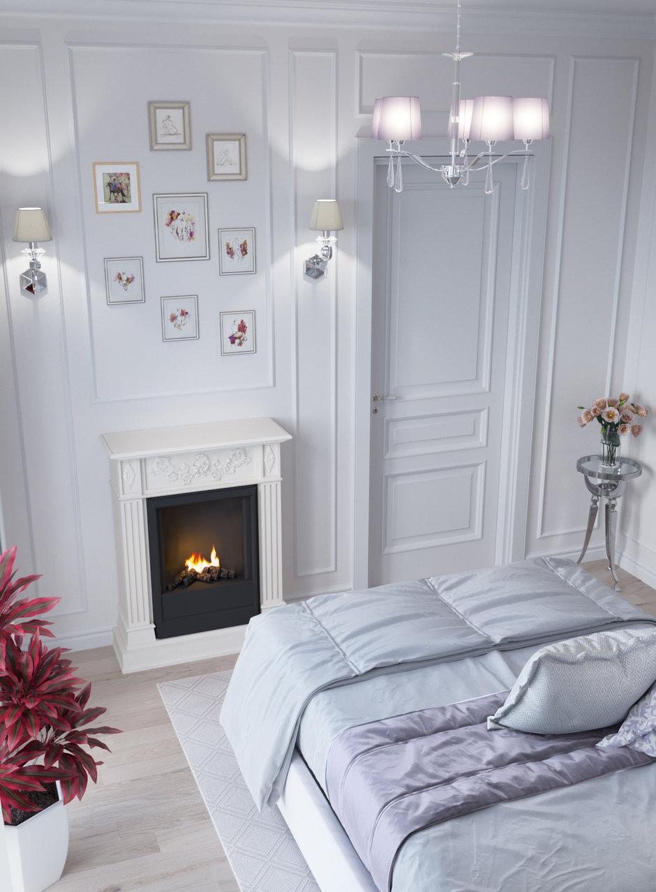 Фотография: Спальня в стиле Классический, Квартира, Проект недели, Новая Москва, Монолитный дом, 2 комнаты, 40-60 метров, Александра Гартке, ЖК «Новая Звезда» – фото на InMyRoom.ru
