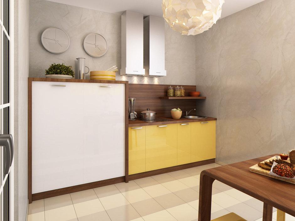 Фотография: Кухня и столовая в стиле Лофт, Современный, Квартира, Проект недели – фото на InMyRoom.ru