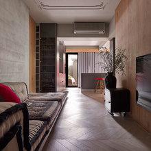 Фотография: Гостиная в стиле Лофт, Современный, Офисное пространство, Офис, Дома и квартиры, Проект недели – фото на InMyRoom.ru