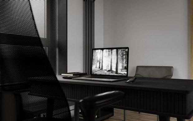 Фото из портфолио Black nord forest – фотографии дизайна интерьеров на INMYROOM