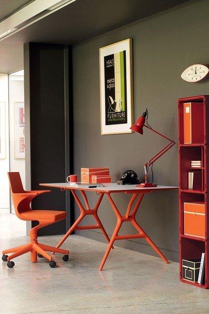 Фотография: Офис в стиле Современный, Декор интерьера, Дизайн интерьера, Цвет в интерьере, Краска – фото на InMyRoom.ru