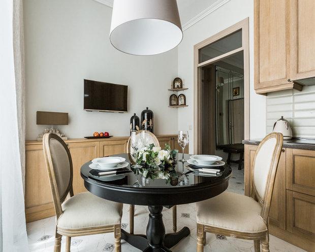 Фотография: Кухня и столовая в стиле Прованс и Кантри, Карта покупок, Мебель и свет – фото на INMYROOM