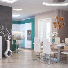 Фото из портфолио кухни в квартиру – фотографии дизайна интерьеров на InMyRoom.ru