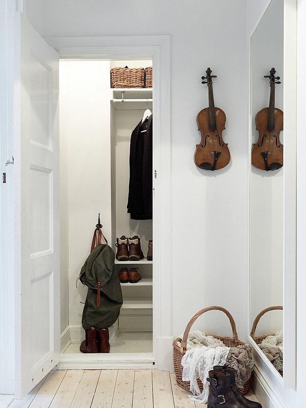 Фотография: Прихожая в стиле Скандинавский, Прованс и Кантри, Декор интерьера, Квартира, Белый – фото на InMyRoom.ru