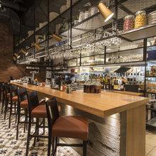 Фото из портфолио Friendly Bar&Kitchen by Match Architects – фотографии дизайна интерьеров на InMyRoom.ru