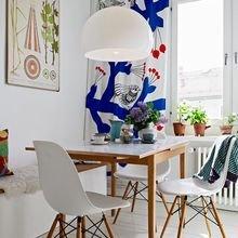 Фотография: Кухня и столовая в стиле Скандинавский, Мебель и свет, Советы – фото на InMyRoom.ru
