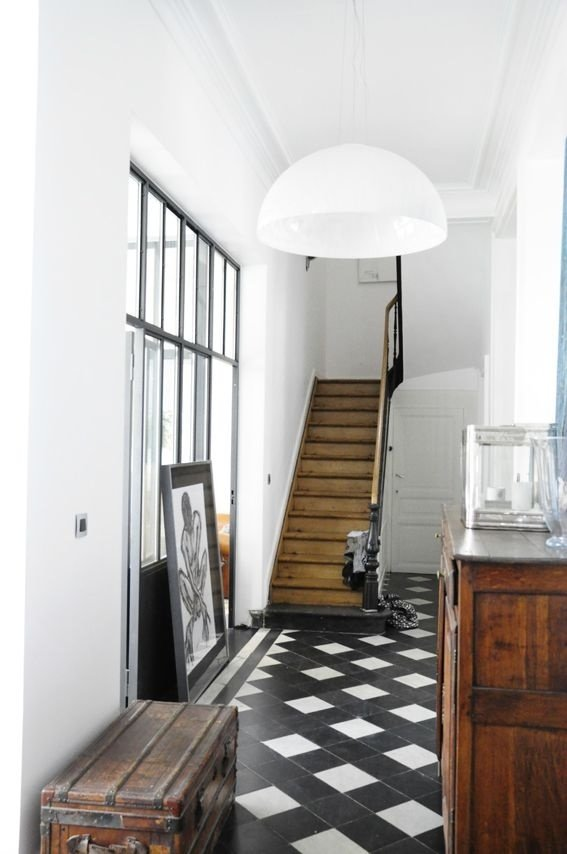 Фотография: Прихожая в стиле Лофт, Скандинавский, Декор интерьера, Мебель и свет – фото на InMyRoom.ru