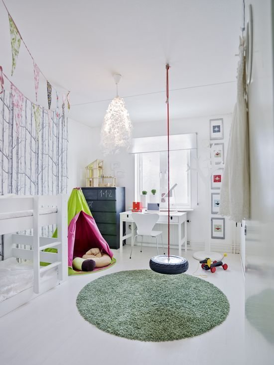 Фотография: Детская в стиле Скандинавский, Современный, Интерьер комнат – фото на InMyRoom.ru