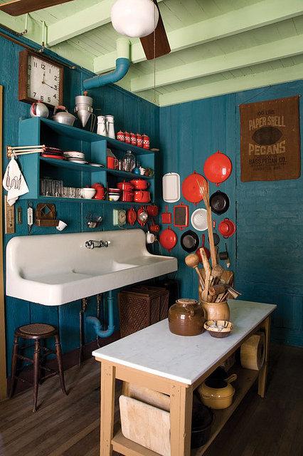Фотография: Кухня и столовая в стиле Прованс и Кантри, DIY, Малогабаритная квартира, Квартира, Советы – фото на InMyRoom.ru