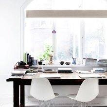 Фотография: Кабинет в стиле Скандинавский, Дизайн интерьера – фото на InMyRoom.ru