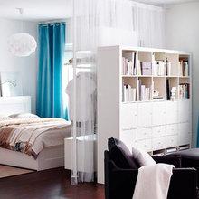 Фотография: Спальня в стиле Скандинавский, Декор интерьера, Мебель и свет – фото на InMyRoom.ru