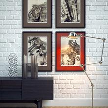 Фотография: Декор в стиле Классический, Современный, Эклектика, Декор интерьера, Декор дома, Цвет в интерьере, Минимализм, Стены, Картины, Ретро, Модерн – фото на InMyRoom.ru