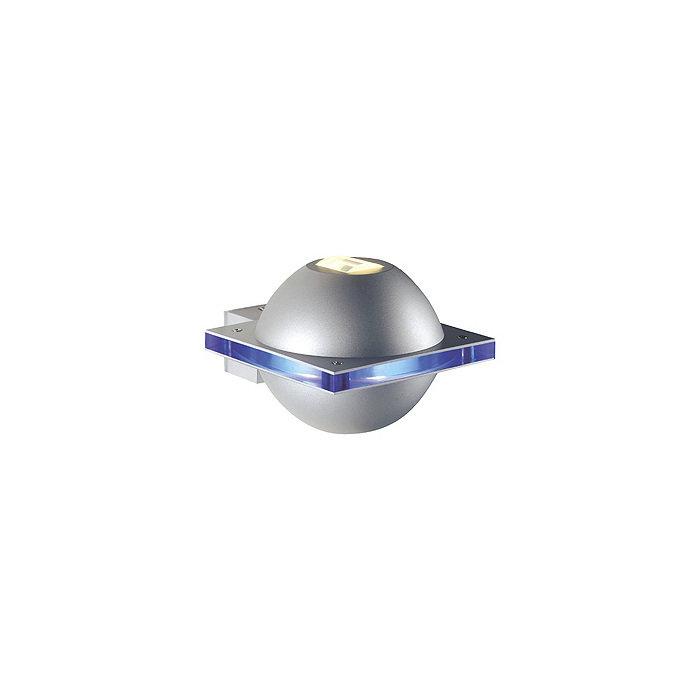 Уличный настенный светильник SLV  Ufo Beam синий