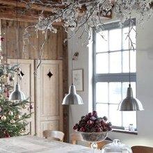 Фотография: Кухня и столовая в стиле Кантри, Декор интерьера, Мебель и свет, Декор дома, Светильники, Зеркала – фото на InMyRoom.ru