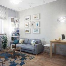 Фотография: Гостиная в стиле Скандинавский, Дома и квартиры, Городские места – фото на InMyRoom.ru