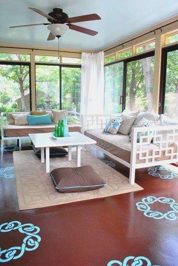 Фотография: Гостиная в стиле Прованс и Кантри, Декор интерьера, Декор дома, Пол – фото на InMyRoom.ru