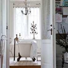 Фотография: Ванная в стиле Кантри, Скандинавский, Дом, Дома и квартиры – фото на InMyRoom.ru