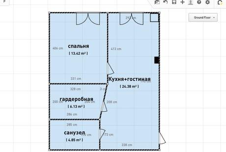 Помогите грамотно расставить мебель в кухне-гостиной