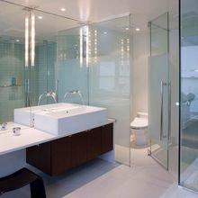Фотография: Ванная в стиле Хай-тек, Декор интерьера, Квартира, Дом – фото на InMyRoom.ru