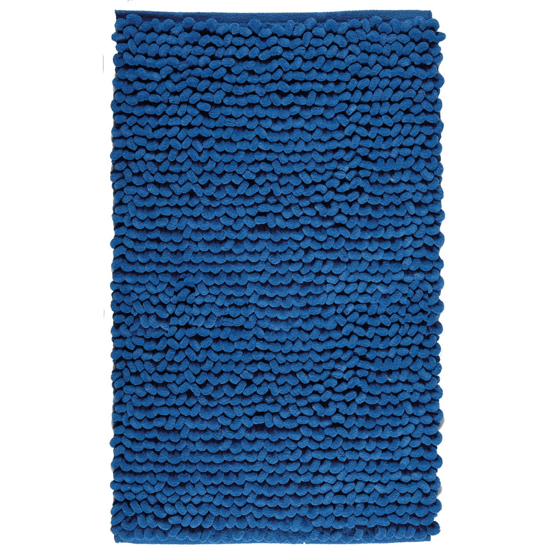 Коврик для ванной Luka синий 60x100 см