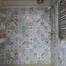 Фотография: Ванная в стиле Кантри, Декор интерьера, Дом, Flos, Дома и квартиры – фото на InMyRoom.ru